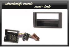 Set Radioblende + Adapter FORD FIESTA FOCUS C-MAX FUSION 2005-   Einbaurahmen 1D
