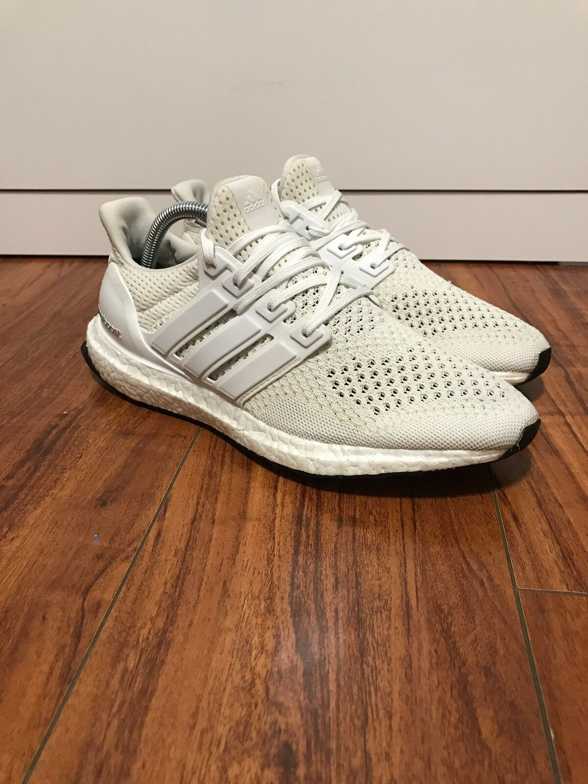 Adidas Ultra Boost 1.0 Triple White OG Size 8.5 Preowned