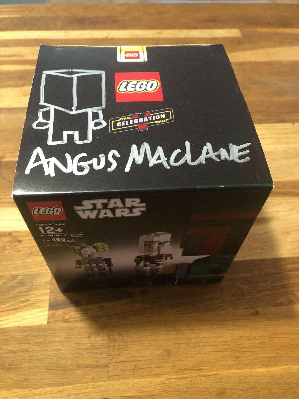 Lego celebración V Starwars Cubo dudes Bounty Bounty Bounty Hunter Ed. firmado Sellado Envío Gratis  para mayoristas