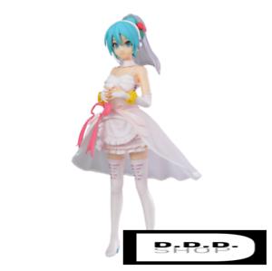 SEGA Hatsune Miku Project DIVA SPM Figure Figurine 23cm Hatsune Miku White Dress