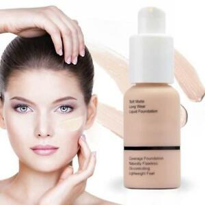 Foundation-Makeup-Full-Coverage-Fast-Base-Brighten-long-lasting-Shade