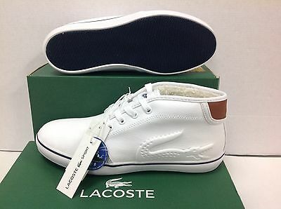 Lacoste Ampthill Grueso Invierno Casual Sport Niños Zapatillas, Size UK 13/EU 32
