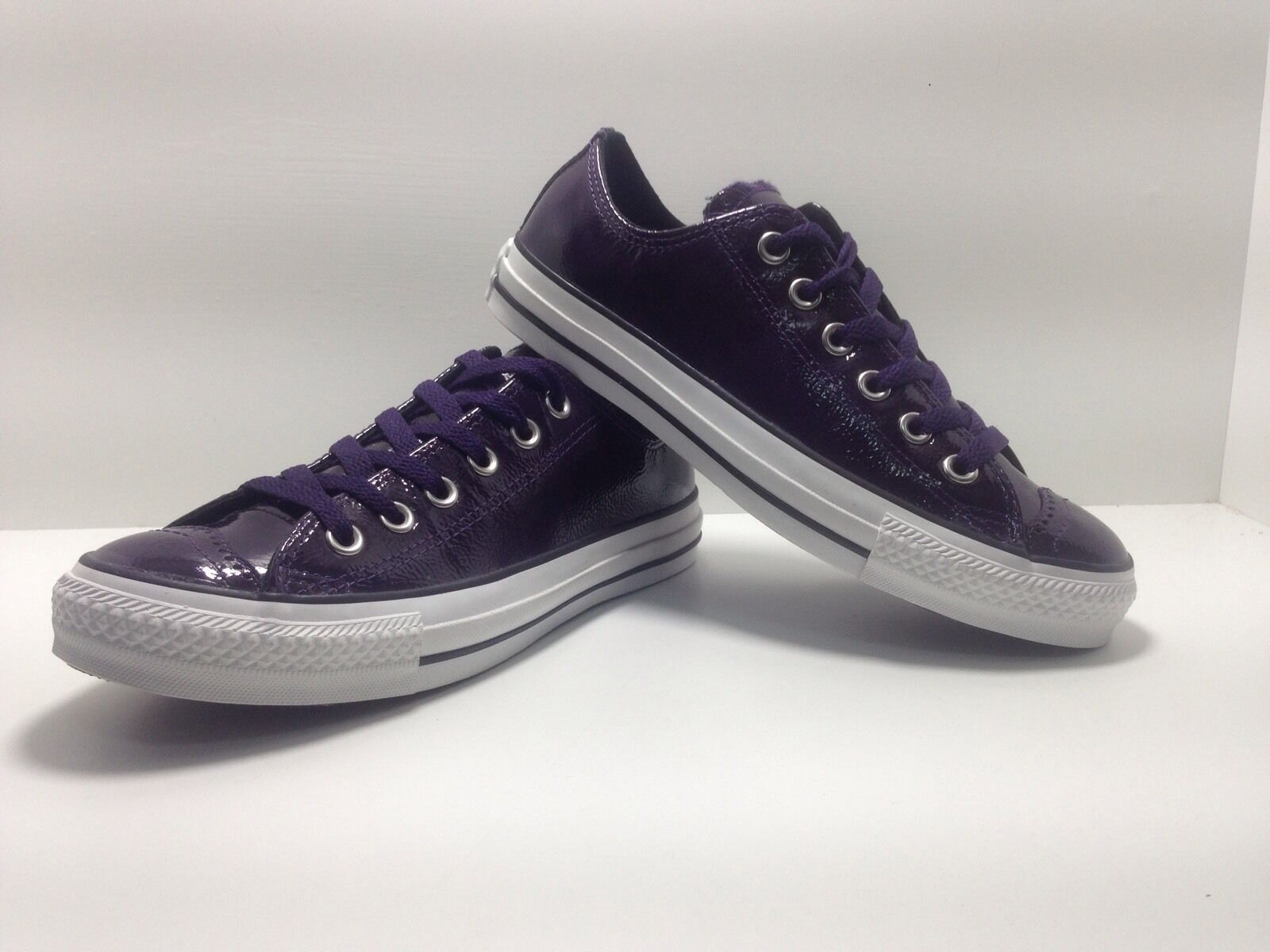 chaussures N.38 CONVERSE COL. violet baskets IN PELLE ART. 112372 baskets BASSE
