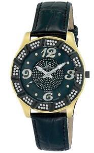 Correa Joshuaamp; Yg Sons Detalles Js 17 De Diamante Hombre Cuarzo Suizo Reloj WxdrBoCe