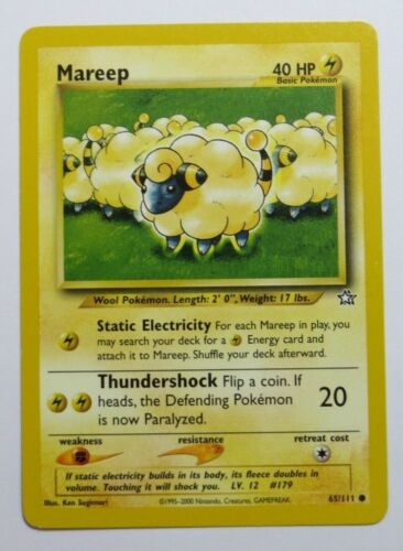 Common//Uncommon Pokemon Cards NEO GENESIS Select your card