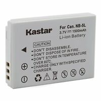 1x Kastar Battery For Canon Nb-5l Powershot Sx200 Is Sx210 Is Sx220 Is Sx230 Hs
