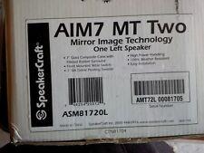 SpeakerCraft AIM7 MT TwoPivoting In-Wall White Left Speaker (Each) ASM81720L