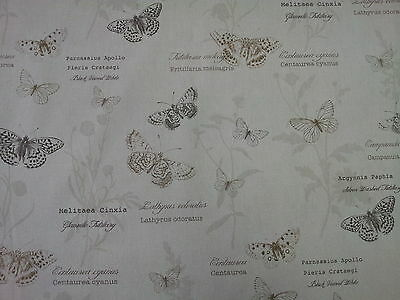 Fryetts Papillon Harvest Butterfly Curtain Upholstery Craft Fabric