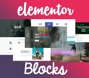 500-Elementor-Blocchi-MODELLI-NO-WordPress-PRO-necessari-confezione-da-2