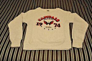 64d1f7b1685 Image is loading NWOT-Washington-Capitals-Women-039-s-Sweatshirt-S-M-L-