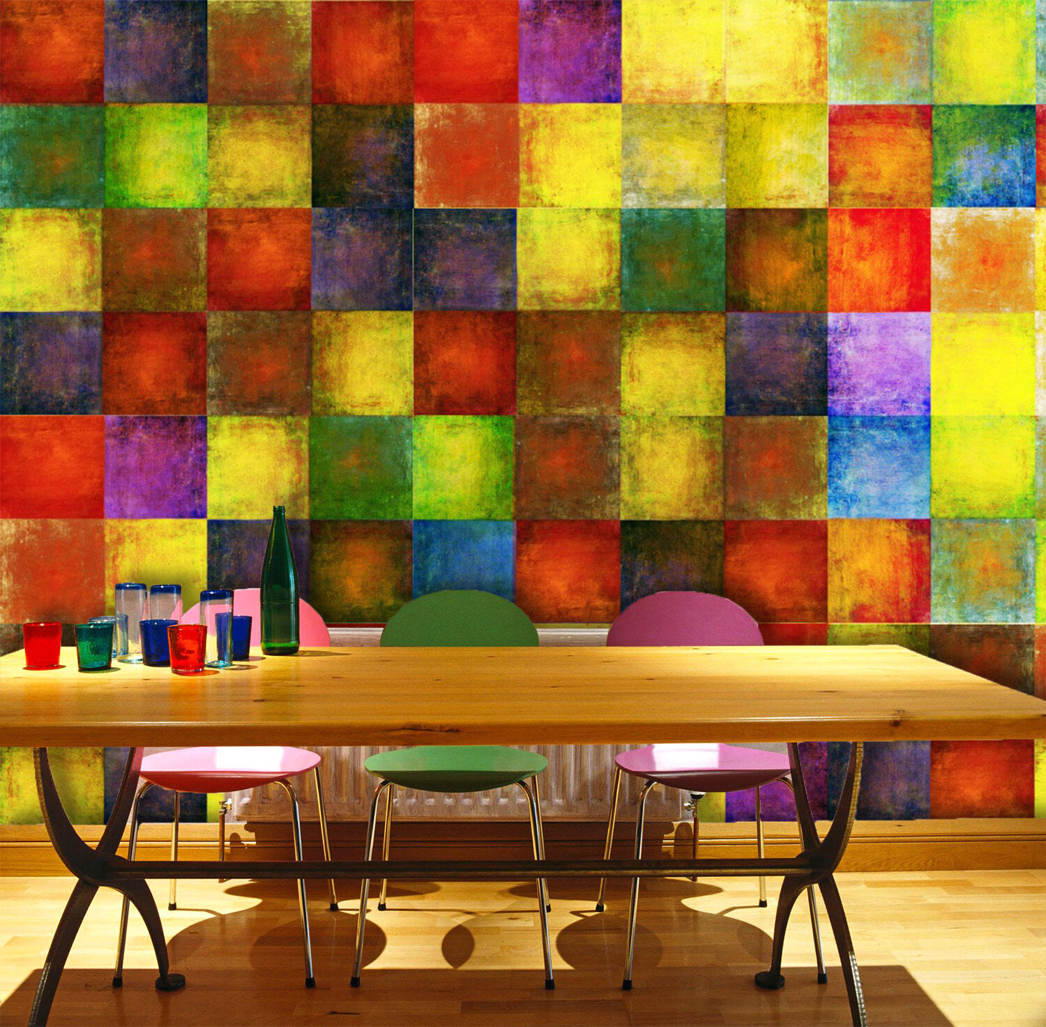 3D Square Lattice 1120 WallPaper Murals Wall Print Decal Wall Deco AJ WALLPAPER