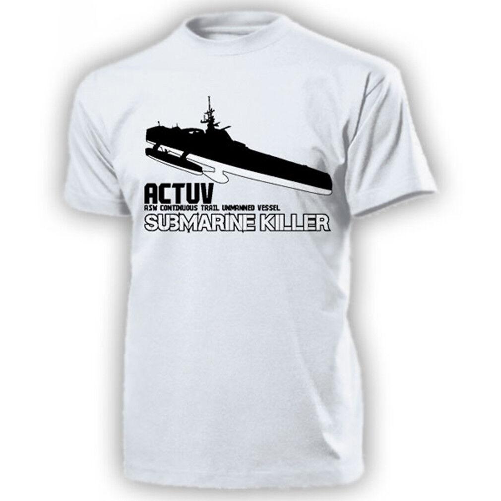 ACTUV Submarine Killer ASW Continuous Train Unmanned Vessel T Shirt  17464     Verrückter Preis, Birmingham    Umweltfreundlich    Hohe Qualität