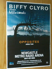 Biffy Clyro + Little Comets - Newcastle march 2013 tour concert gig poster