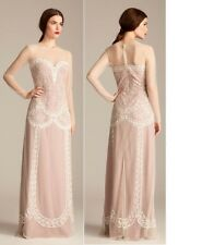 Alice by Temperley Long Luisa Dress in Oyster Mix Colour Size 14  RRP £595   #4