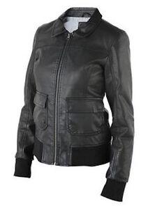 Faux new Jacket L Nixon Large Leather Women's Black Rider avwAxng5qU