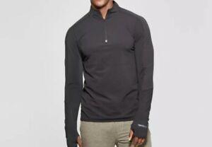 Champion C9 Men/'s Fleece 1//4 Zip Pullover Sweater Size S Black Activewear