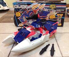 GI Joe Shark 9000 Hovercraft Battle Corps 100% Complete Vintage Hasbro ARAH 1993