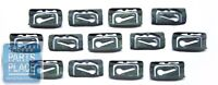 1968-72 Gm X Body Front Windshield Molding Clip Kit - 14 Pieces