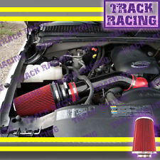 99-07 CHEVY SILVERADO SIERRA TAHOE AVALANCHE 1500 V8 WB COLD WB AIR INTAKE Red
