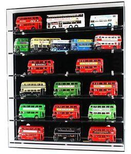 Modèle de présentoir mural en acrylique pour 1/76 autobus - 6 tablettes 5056078301889