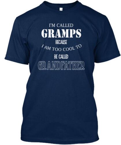 Personnalisé Papy-Je suis appelé parce que je suis trop cool pour être Standard Unisexe T-Shirt