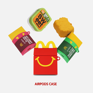 MCDONALD-039-s-3D-Silicone-Case-Cover-For-Airpods-Pro-amp-1st-amp-2nd-Generation