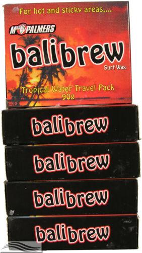 Mrs Palmers Bali Brew Tropical Surf Wax 5 Pack