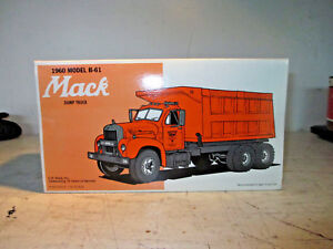 NIB First Gear 1960 Model B61 Mack Dump Truck  1/34 Scale C.P. Ward Inc 19-1827