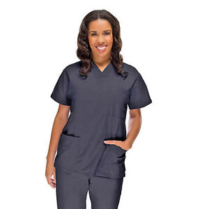 All-Heart-Basic-Scrub-Top-and-Pants-Pewter-New