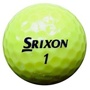 60-Srixon-Z-Star-Tour-Gelb-Golfbaelle-im-Netzbeutel-AA-AAAA-Lakeballs-ZStar-Golf