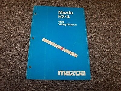 [SCHEMATICS_4FD]  1978 Mazda RX4 Sedan Factory Original Electrical Wiring Diagram Manual |  eBay | Mazda Rx4 Wiring Diagram |  | eBay