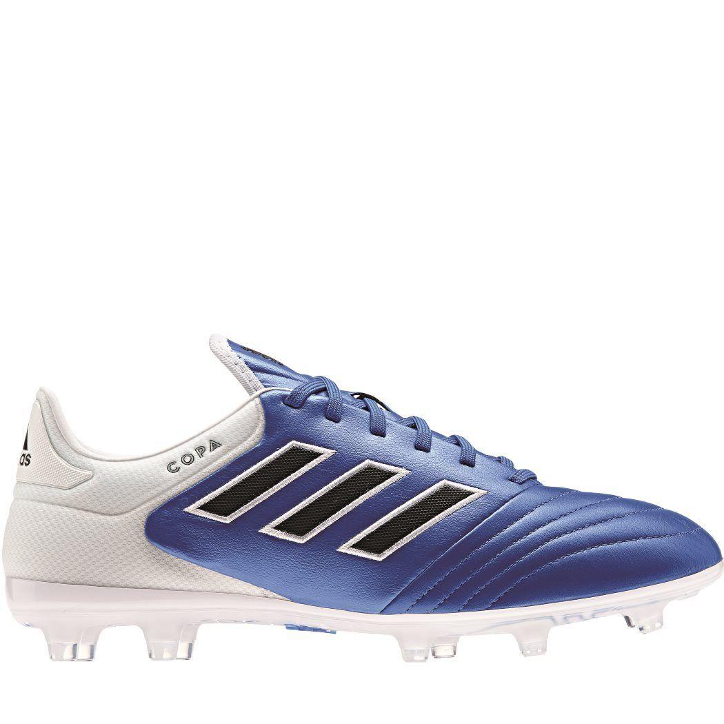 Adidas COPA 17.2 FG Blau Blast Pack Leder Fußballschuhe blau schwarz weiß BA8521