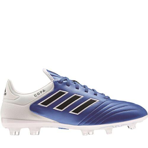 cheap for discount 1339b bdc29 Adidas Copa 17.2 FG Blue Blast Pack cuir chaussures de foot bleu noir blanc  ba8521 Articles de football