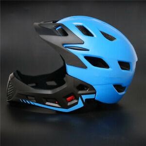 Children Full Face Bicycle Helmet Kids Downhill MTB BMX Crash Motorcycle Helmet