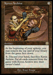 1x-Kyren-Archive-Mercadian-Masques-MtG-Magic-Artifact-Rare-1-x1-Card-Cards