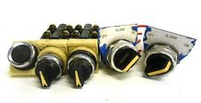 ASSORTED SELECTOR SWITCHES AND PUSH BUTTON (LOT OF 5)
