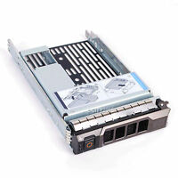3.5 Hard Drive Tray Caddy W/2.5 Adapter For Dell Poweredge T630 Ship From Usa