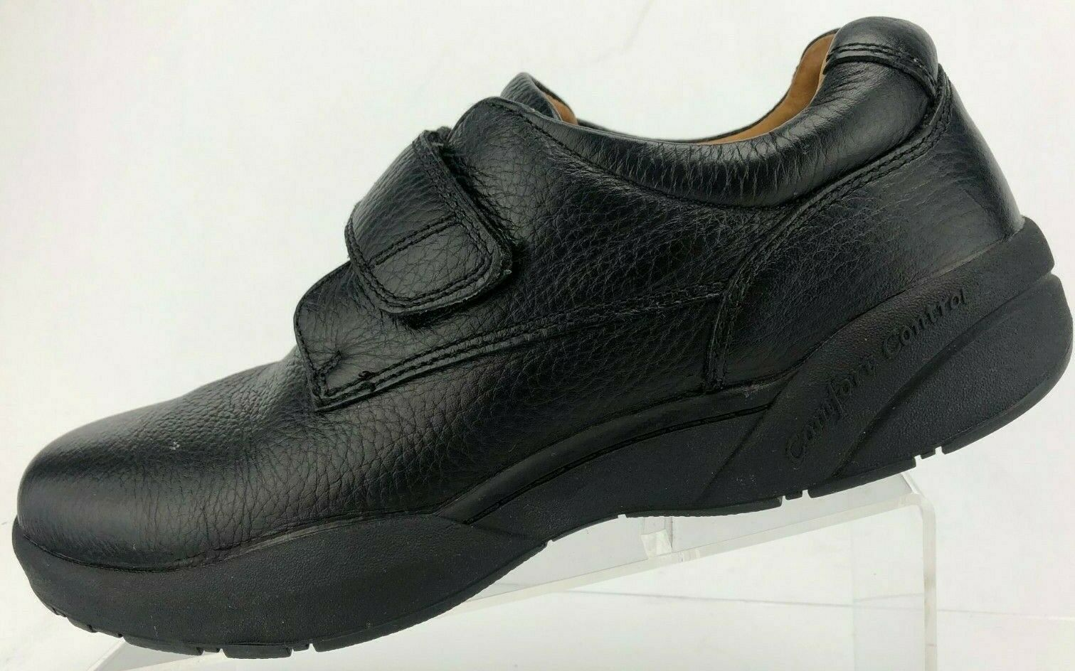 Dr comodidad William Therapeutic extra Depth Negro Zapatos Para Caminar diabética para hombre 11M