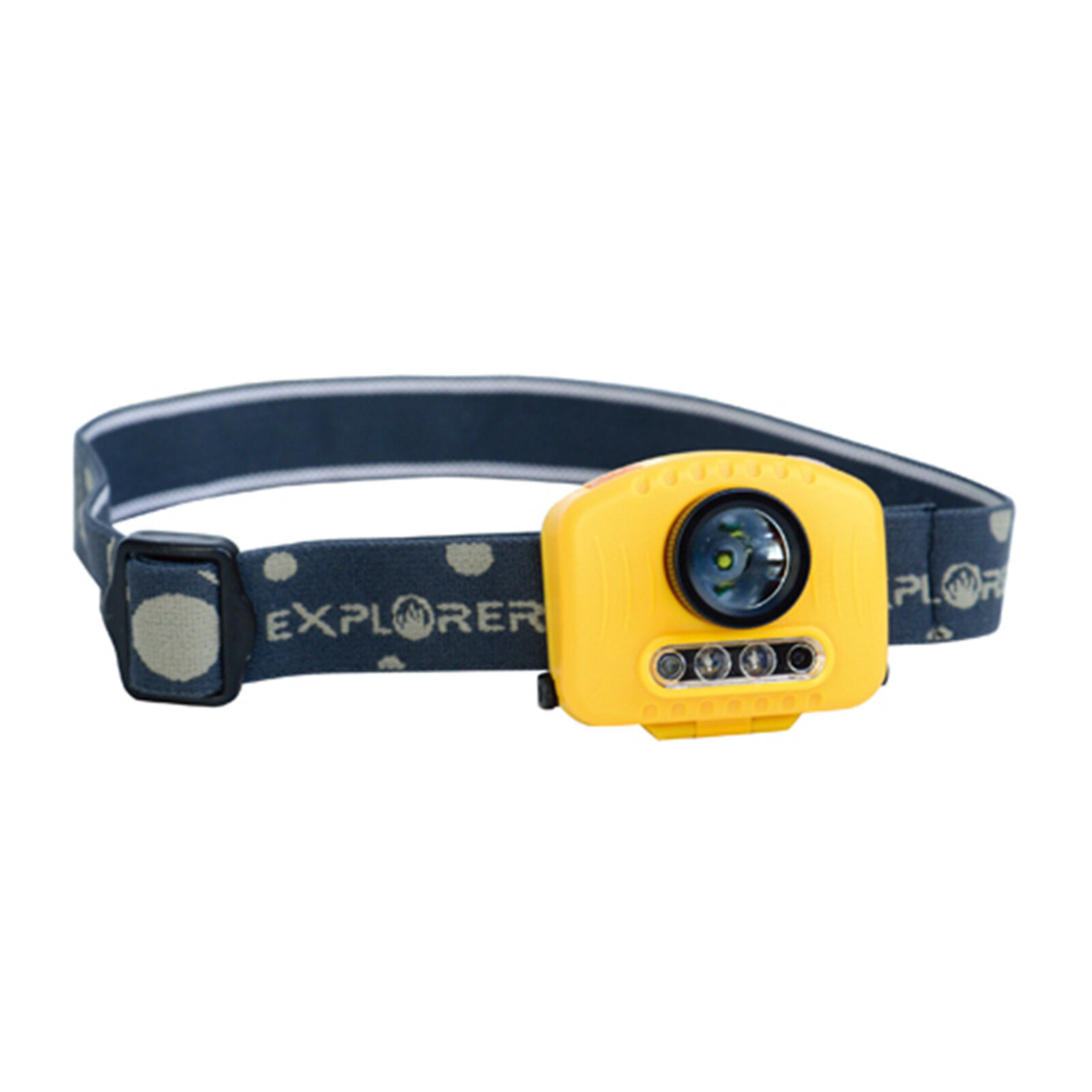 New 3 Mode Adjustable LED Headlight Headlamp Flashlight Waterproof SLH-180LM-5