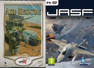 Details about Jane's Advanced Strike Fighters JASF & AIR RESCUE NEW&SEALED