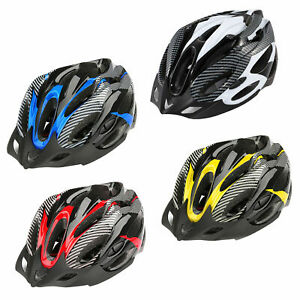 Bike Cycling Bicycle Adjustable Carbon Helmet With Visor Mountain For Men Women