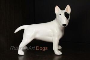 Figurine-Bull-terrier-Dog-ceramic-statue-faience