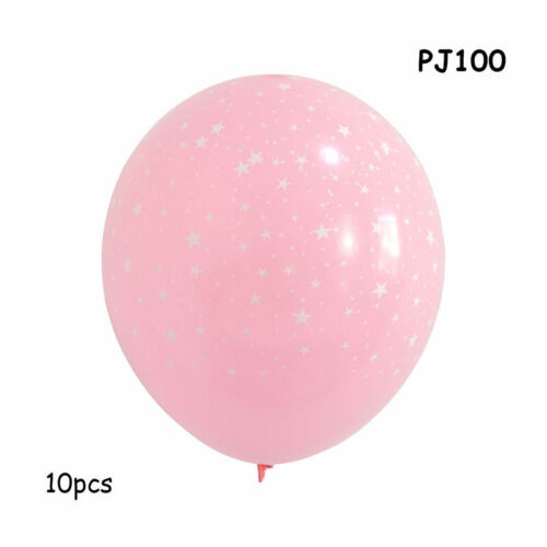 Pink Heart Air Balloons Happy Birthday Party Decoration Wedding With Confetti