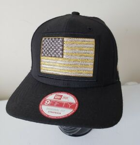 New Era American Flag Metal Gold Silver 9Fifty 950 Baseball Cap Hat ... a1725099169f