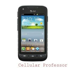 Excellent - Samsung Galaxy Rugby Pro I547 - Black (Unlocked - AT&T) Smartphone
