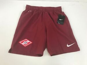Boys' Clothing (2-16 Years) Spartak Moscow Kids Official Nike Football Shorts Burgundy Kids' Clothes, Shoes & Accs.
