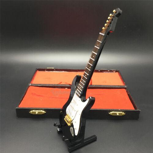 """1//6 SCALA fatto a mano 18CM Nero Folk Chitarra Elettrica modello per 12/"""" Action Figure"""