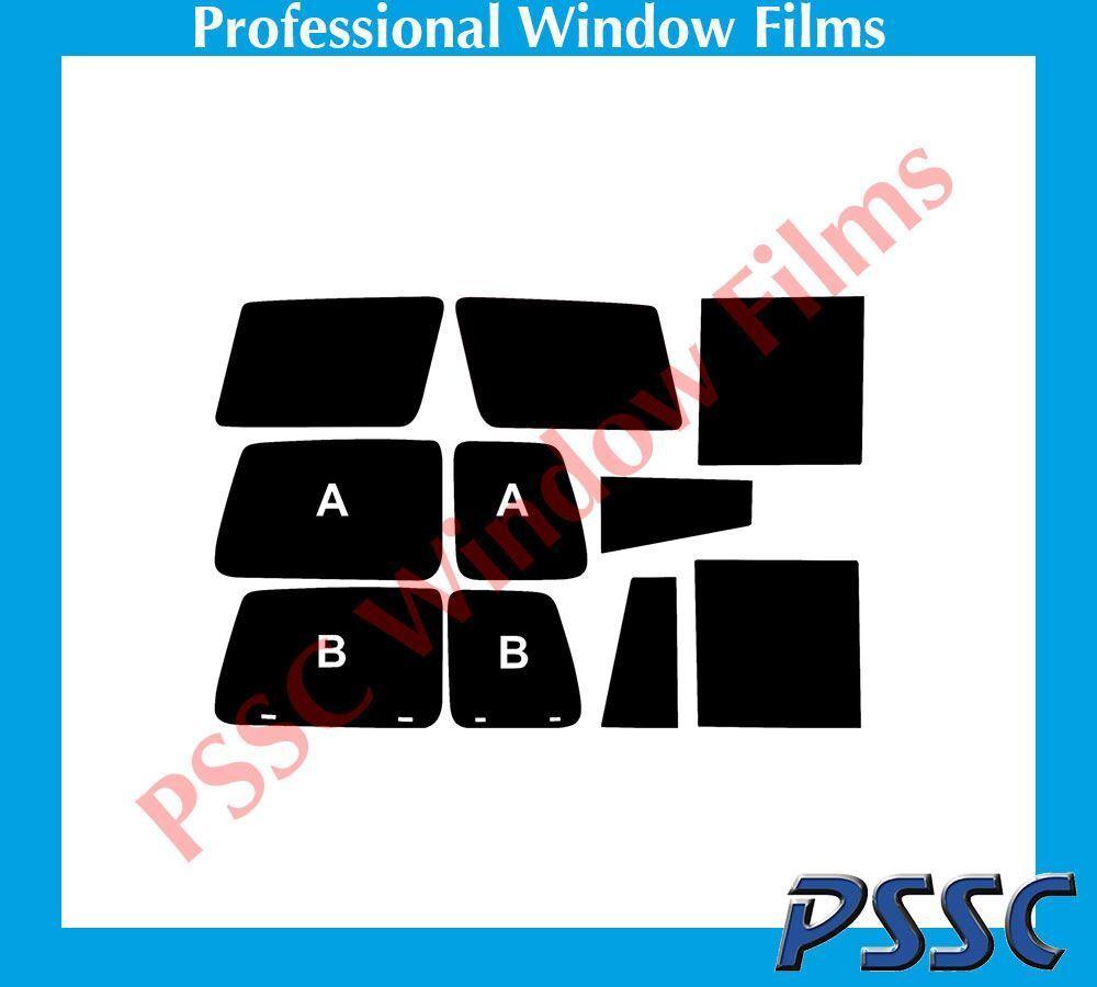 Pssc Vorgestanzt hinter Autofenster 5% Tönung Films für Nissan Patrol 1998-2009