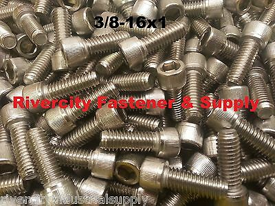 3//8-16x1-1//4 Socket Allen Head Cap Screw Stainless Steel .375 x 1.25 5