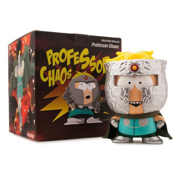 Professor Chaos South Park Fractured But Whole Medium Figure Brand New Kidrobot